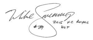 SWEENEY Autograph